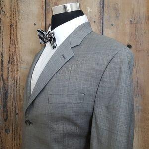 Lauren Ralph Lauren Sport Coat Mens 46L Wool Gray